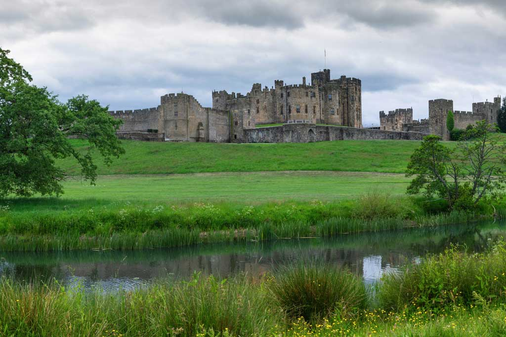 Image of Alnwick Castle in Northumberland